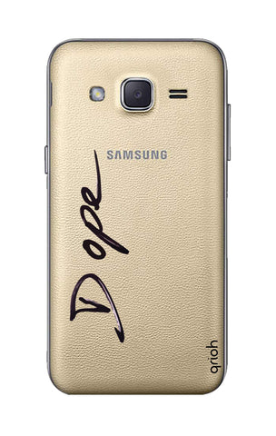 Dope Paint Black Samsung J2 Cases & Covers Online