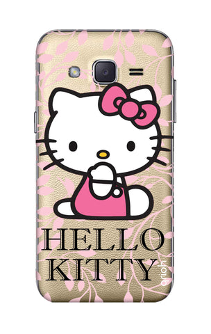 Hello Kitty Floral Samsung J2 Cases & Covers Online
