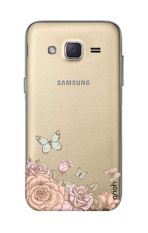 Flower And Butterfly Samsung J2 Cases & Covers Online