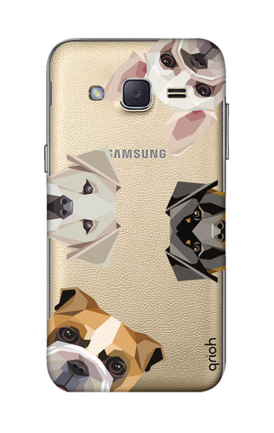 Geometric Dogs Samsung J2 Cases & Covers Online