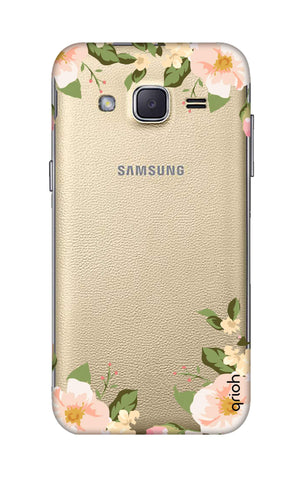 Flower In Corner Samsung J2 Cases & Covers Online