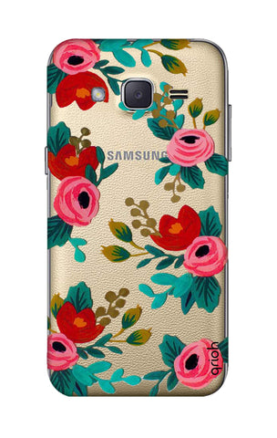 Red Floral Samsung J2 Cases & Covers Online