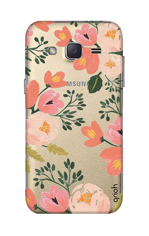 Painted Flora Samsung J2 Cases & Covers Online