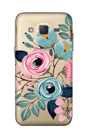 Pink And Blue Floral Samsung J2 Cases & Covers Online