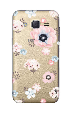 Beautiful White Floral Samsung J2 Cases & Covers Online