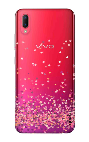 Cluster Of Hearts Vivo Y93 Cases & Covers Online