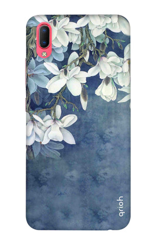 White Flower Vivo Y93 Cases & Covers Online