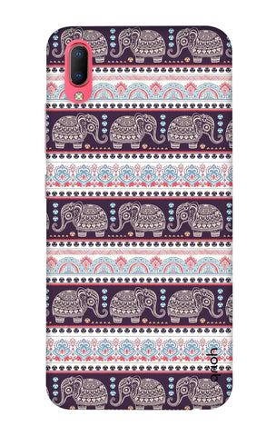 Elephant Pattern Vivo Y93 Cases & Covers Online