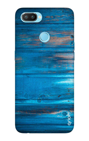 Blue Wooden Realme U1  Cases & Covers Online