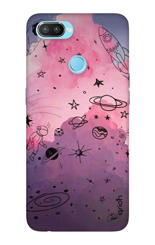 Space Doodles Art Realme U1  Cases & Covers Online