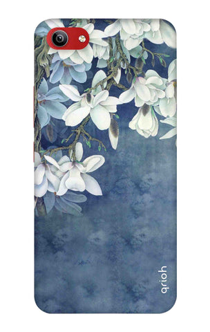 White Flower Vivo Y81i Cases & Covers Online