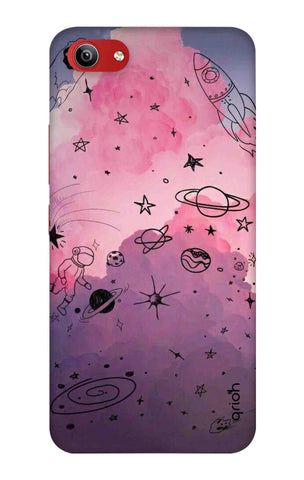 Space Doodles Art Vivo Y81i Cases & Covers Online