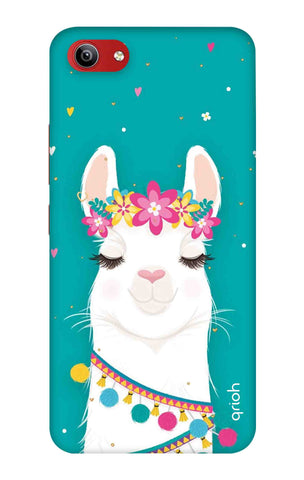 Cute Llama Vivo Y81i Cases & Covers Online