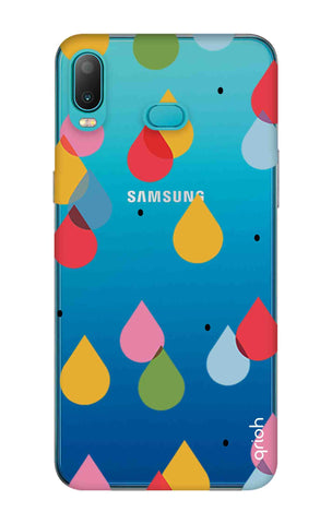 Colourful Drops Samsung Galaxy A6s Cases & Covers Online