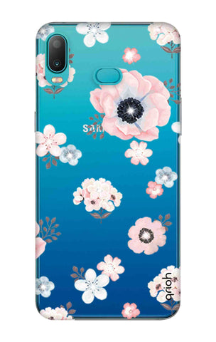 Beautiful White Floral Samsung Galaxy A6s Cases & Covers Online