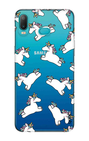 Jumping Unicorns Samsung Galaxy A6s Cases & Covers Online