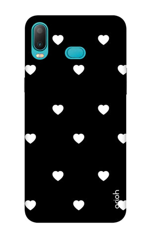 White Heart Samsung Galaxy A6s Cases & Covers Online