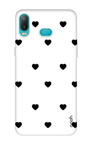 Black Heart Samsung Galaxy A6s Cases & Covers Online
