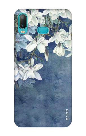 White Flower Samsung Galaxy A6s Cases & Covers Online