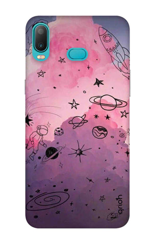 Space Doodles Art Samsung Galaxy A6s Cases & Covers Online