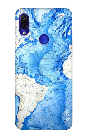 World Map Xiaomi Redmi Note 7 Cases & Covers Online