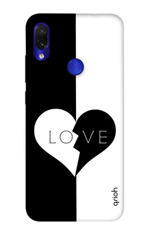 Love Xiaomi Redmi Note 7 Cases & Covers Online