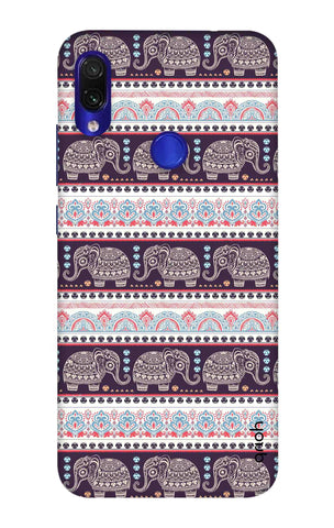 Elephant Pattern Xiaomi Redmi Note 7 Cases & Covers Online