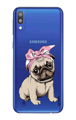 Pink Puggy Samsung Galaxy M10 Cases & Covers Online