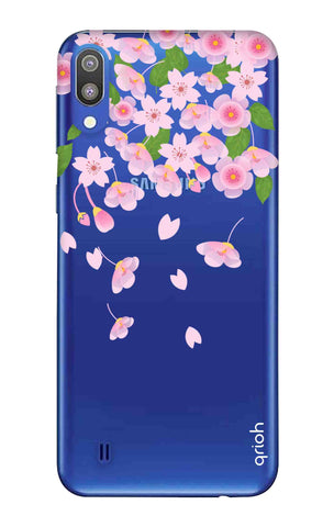 Pretty Pink Floral Samsung Galaxy M10 Cases & Covers Online