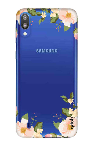Flower In Corner Samsung Galaxy M10 Cases & Covers Online