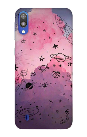 Space Doodles Art Samsung Galaxy M10 Cases & Covers Online