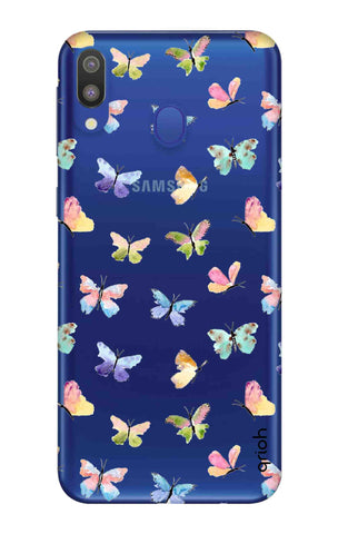 Painted Butterflies Samsung Galaxy M20 Cases & Covers Online