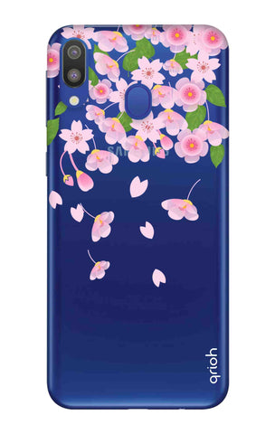 Pretty Pink Floral Samsung Galaxy M20 Cases & Covers Online
