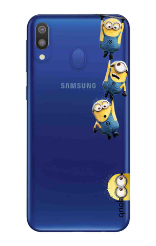 Falling Minions Samsung Galaxy M20 Cases & Covers Online