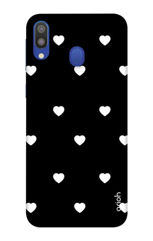 White Heart Samsung Galaxy M20 Cases & Covers Online