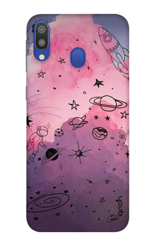 Space Doodles Art Samsung Galaxy M20 Cases & Covers Online