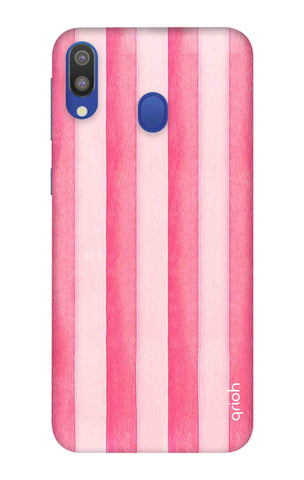 Painted Stripe Samsung Galaxy M20 Cases & Covers Online
