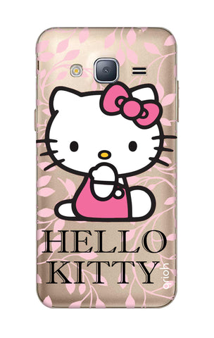 Hello Kitty Floral Samsung J3 Cases & Covers Online