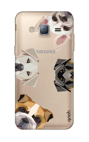 Geometric Dogs Samsung J3 Cases & Covers Online