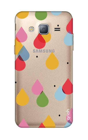 Colourful Drops Samsung J3 Cases & Covers Online