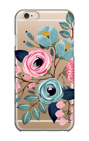 Pink And Blue Floral iPhone 6 Plus Cases & Covers Online