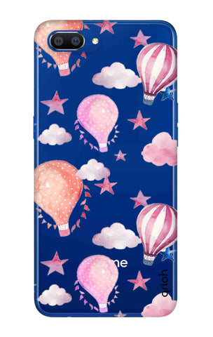 Flying Balloons Realme C1 2019 Cases & Covers Online