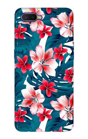 Floral Jungle Oppo K1 Cases & Covers Online