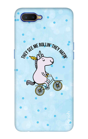 Rollin Horse Oppo K1 Cases & Covers Online