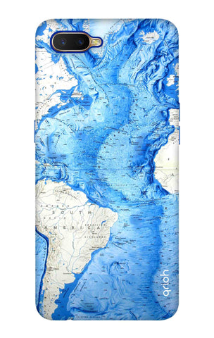 World Map Oppo K1 Cases & Covers Online