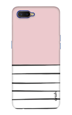 Horizontal Stripe Oppo K1 Cases & Covers Online