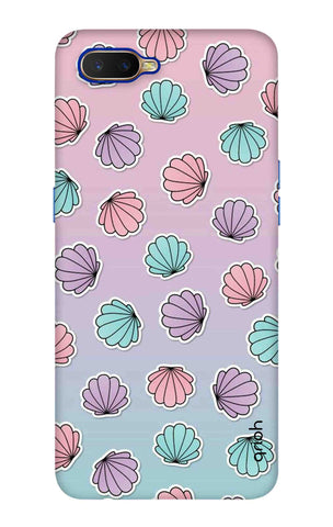 Gradient Flowers Oppo K1 Cases & Covers Online