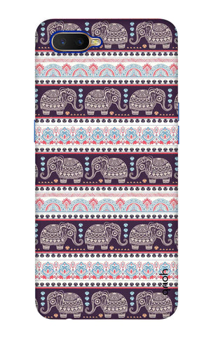 Elephant Pattern Oppo K1 Cases & Covers Online