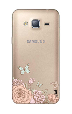 Flower And Butterfly Samsung J3 2016 Cases & Covers Online