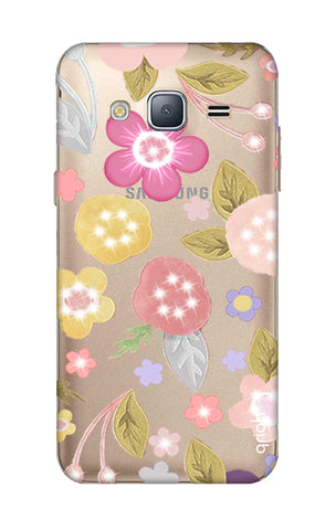 Multi Coloured Bling Floral Samsung J3 2016 Cases & Covers Online